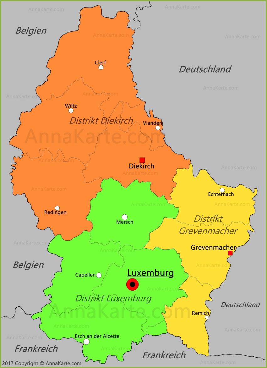 Einwohnerzahl Luxemburg