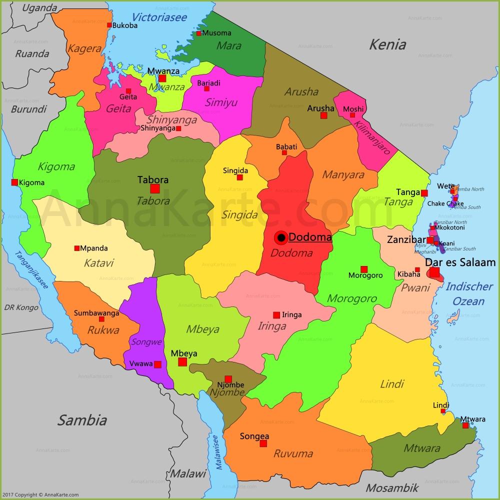 100 Karte Tansania Rundreise Tansania Und Kenia Mara Serengeti
