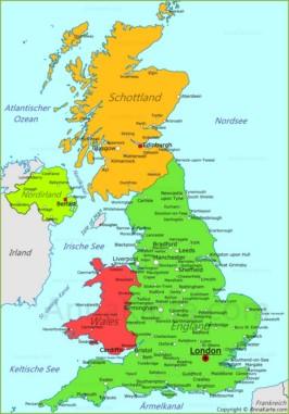 Wolverhampton Vereinigtes Königreich : die st dte von vereinigtes k nigreich auf der karte ~ Watch28wear.com Haus und Dekorationen